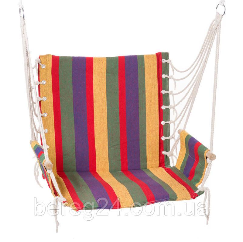 Гамак сидячий HY-8211-1 комфортний 65*46*55 для дачі саду підвісний гамак