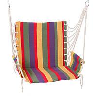 Гамак сидячий HY-8211-1 комфортний 65*46*55 для дачі саду підвісний гамак, фото 1