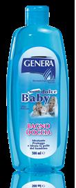 Гель-піна для ванни дитяча GENERA BABY  (Італія) 500 мл