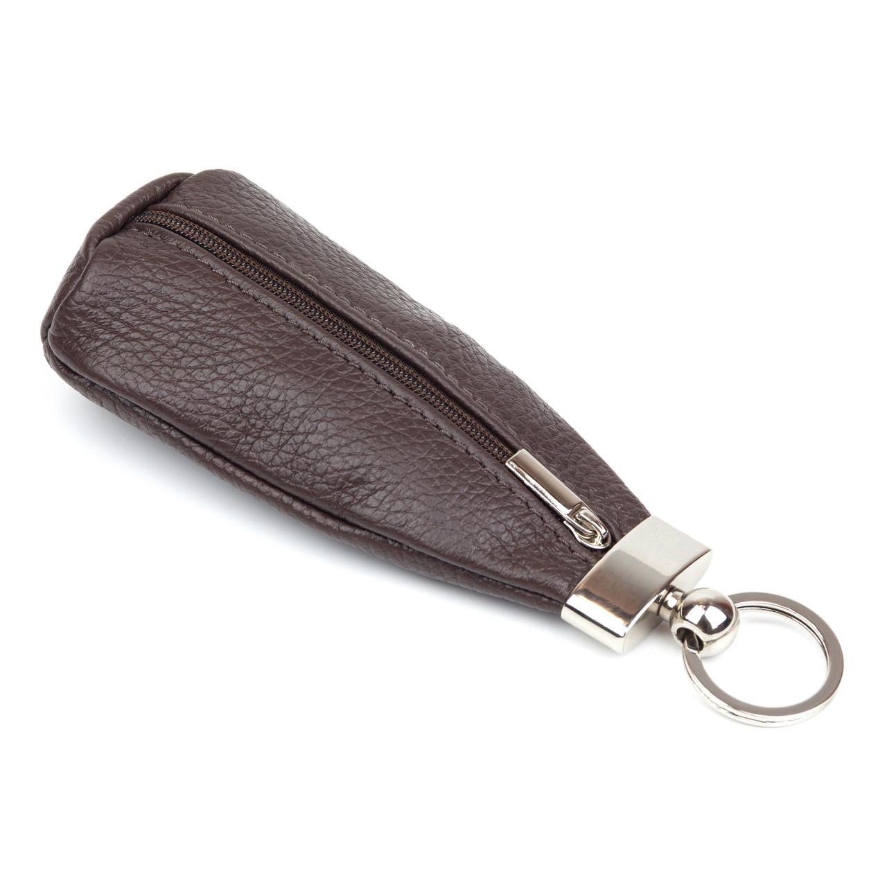 Ключница Woman's heel кожаная шоколад (В-333-3)