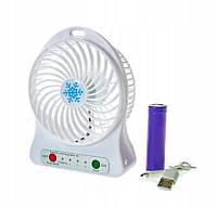 Мини вентилятор Fan с аккумулятором, фото 1