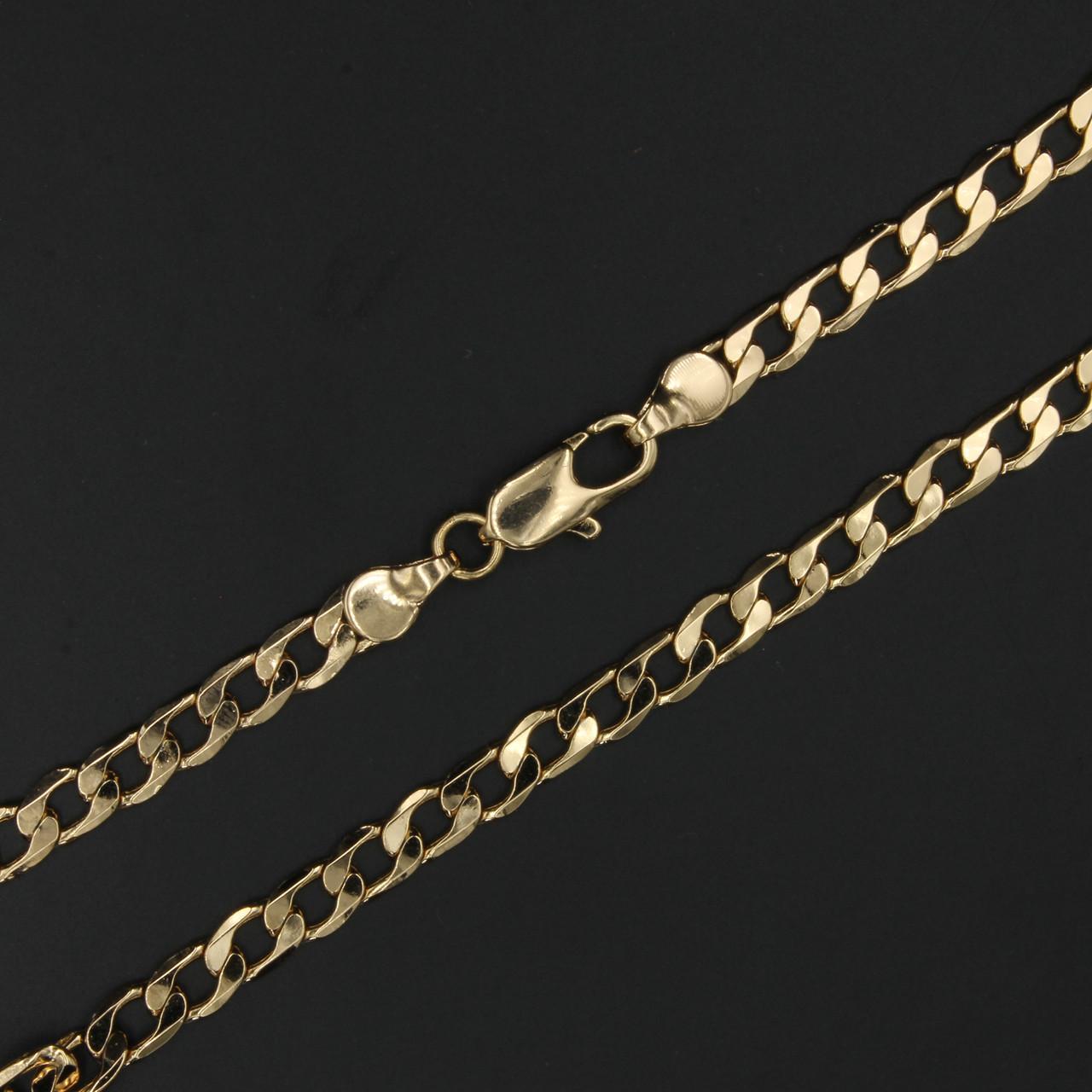 Цепочка Xuping Порто, плетение панцирное, 50см