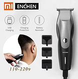 Машинка для стрижки волос Xiaomi Enchen Hummingbird Black 3 насадки в комплекте, фото 7