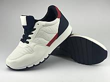 Кроссовки подростковые для мальчика белые LaVento