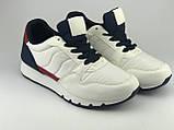 Кроссовки подростковые для мальчика белые LaVento, фото 2