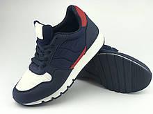 Кроссовки подростковые для мальчика синие LaVento