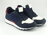 Кроссовки подростковые для мальчика синие LaVento, фото 2