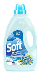 Кондиціонер ополіскувач класична блакить Soft 3л 50 прань
