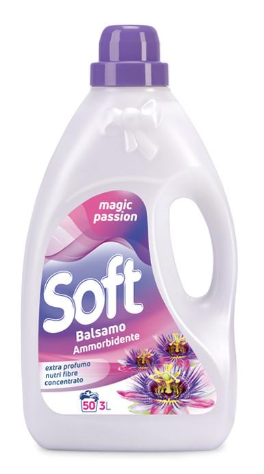Пом'якшувач SOFT  пристрасті 40 прань 3л