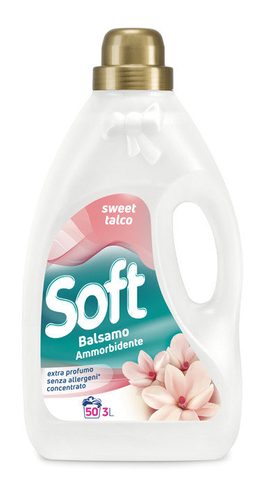 Кондиціонер ополіскувач солодке масло Soft 3л 50 прань