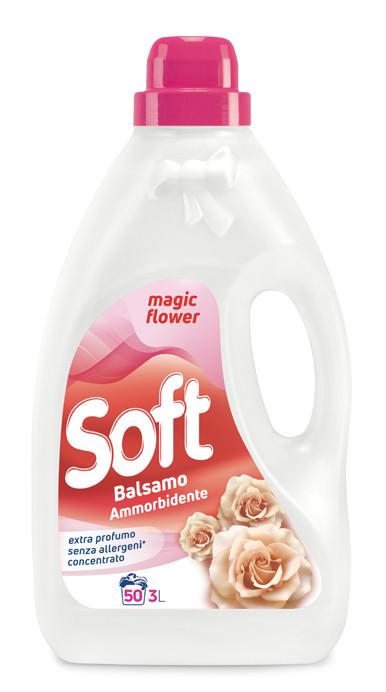 Кондиціонер ополіскувач магія квітів Soft 3л 50 прань