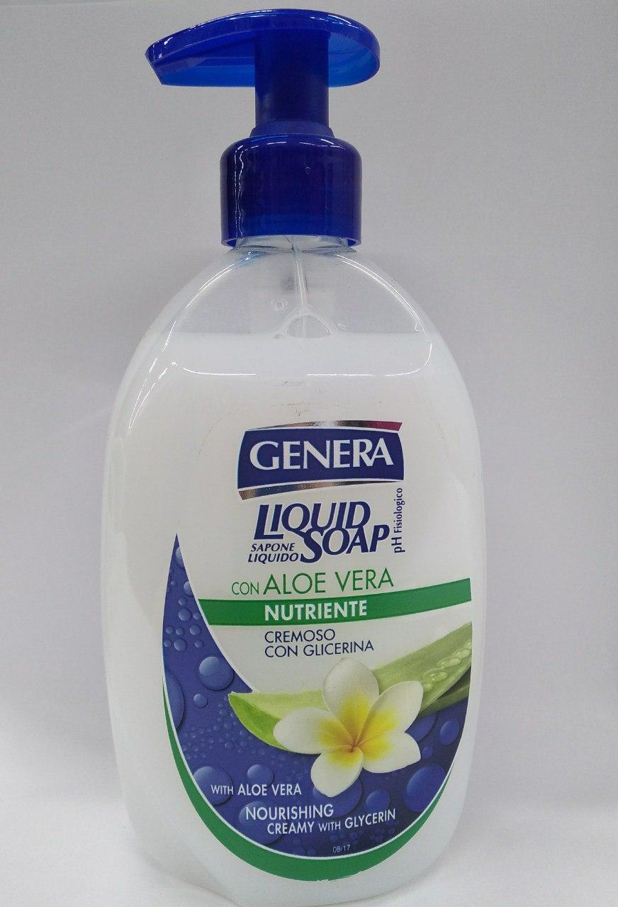 Жидкое мыло  GENERA (Италия)  GENERA (Италия)  Живильное 500 мл