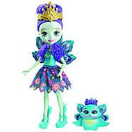 Набір ляльок Enchantimals Энчантималс Кращі подруги і їхні вихованці Кролик Павич Овечка FMG18, фото 4