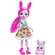 Набір ляльок Enchantimals Энчантималс Кращі подруги і їхні вихованці Кролик Павич Овечка FMG18, фото 6