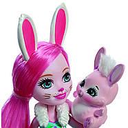 Набір ляльок Enchantimals Энчантималс Кращі подруги і їхні вихованці Кролик Павич Овечка FMG18, фото 7