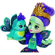 Набір ляльок Enchantimals Энчантималс Кращі подруги і їхні вихованці Кролик Павич Овечка FMG18, фото 8