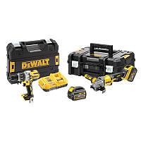 Набір з двох інструментів безщіткових DeWALT DCK2055T2T