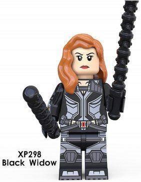 Чёрная вдова Black Widow Мстители Супергерой Марвел Аналог лего