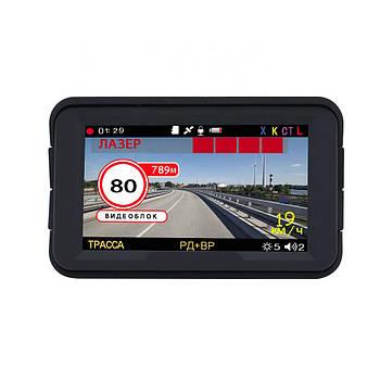 """Автомобильный радар детектор Karadar C308 видеорегистратор 3 в 1 экран 3"""" Full HD оповещение о сигналах GPS"""