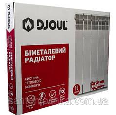 Радиатор Djoul биметаллический Bi 500/96 (секция 180 Вт.,1.33 кг. 35 бар.)