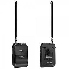 Микрофон беспроводной BOYA BY-WFM12 петличный 12-канальная радиосистема для записи аудио