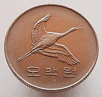 Южная Корея 500 вон 2001