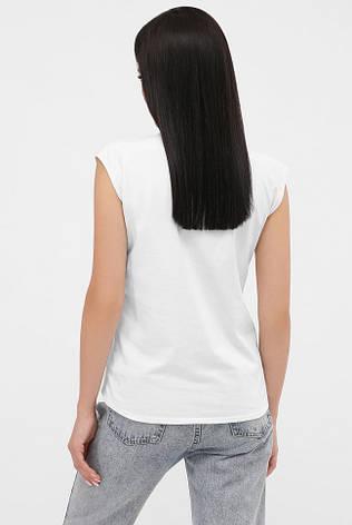 Жіноча футболка без рукавів з кольоровим принтом 50, фото 2