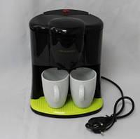 Кофеварка CROWNBERG CB-1560 капельная с чашками, фото 1
