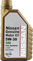 Моторное масло Nissan Genuine Motor Oil SM 5W-30 1л