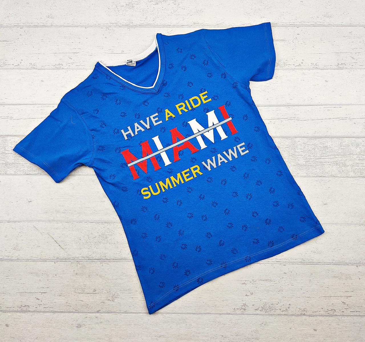 Детская футболка оптом для мальчиков 9-12 лет.