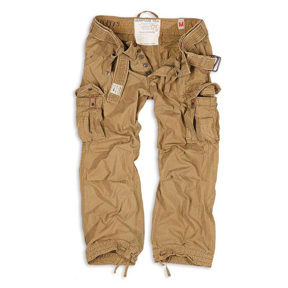 Брюки Surplus Premium Vintage Trousers Beige Gewas (XXXL)