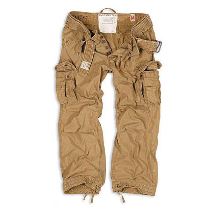 Брюки Surplus Premium Vintage Trousers Beige Gewas (XXXL), фото 2