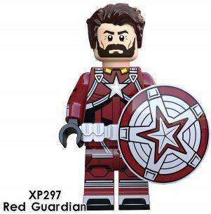 Красный Страж Red Guardian Мстители Суперзлодей Марвел Аналог лего