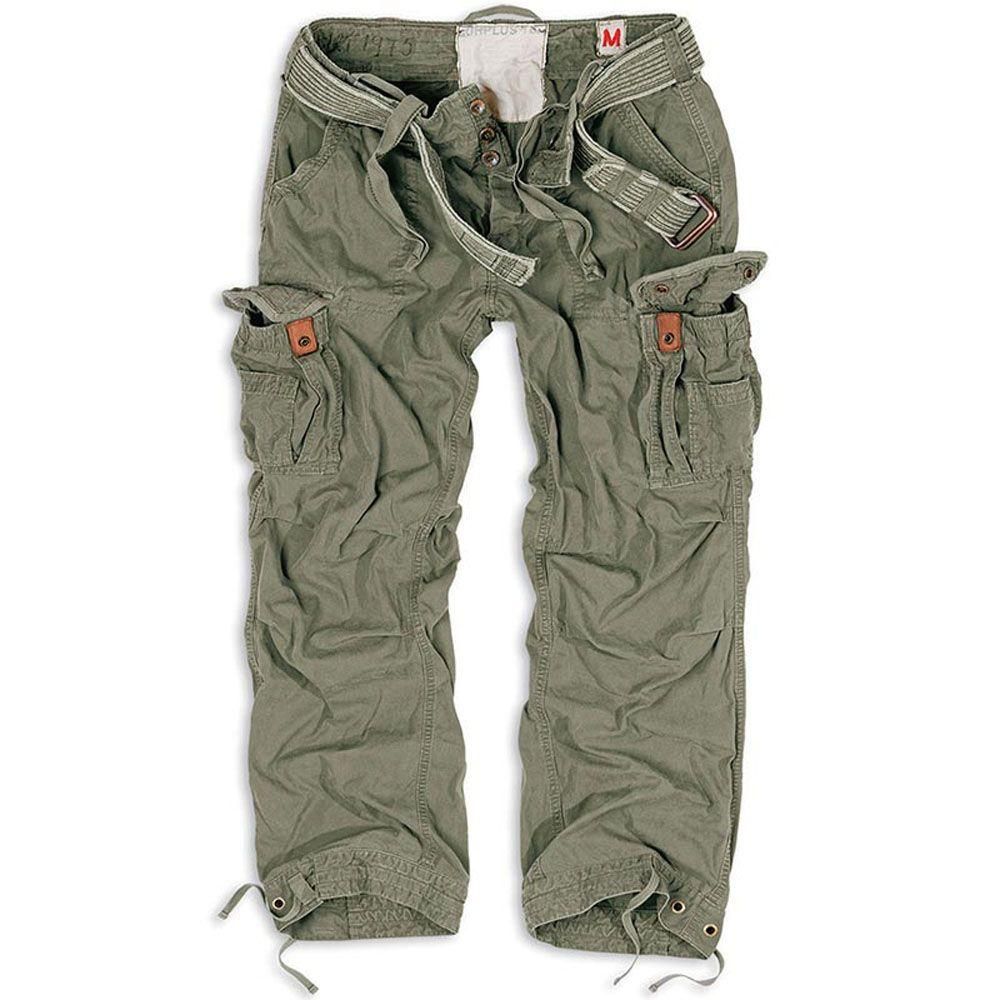 Штани Surplus Premium Vintage Trousers Oliv Gewas (3XL)