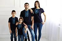 Р-р 44, 46, 48, 50, 52, 54, 56, 58, вишиванки для сім`ї , Футболки для семьи