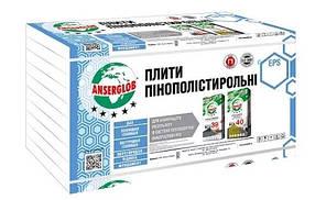 Пенопласт EPS-40 Anserglob  10 кг/м.куб  10 см (1 х 1 м)