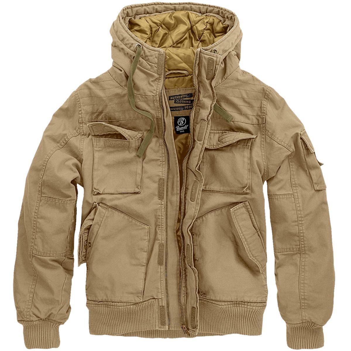 Куртка Brandit Bronx Jaket CAMEL (M)