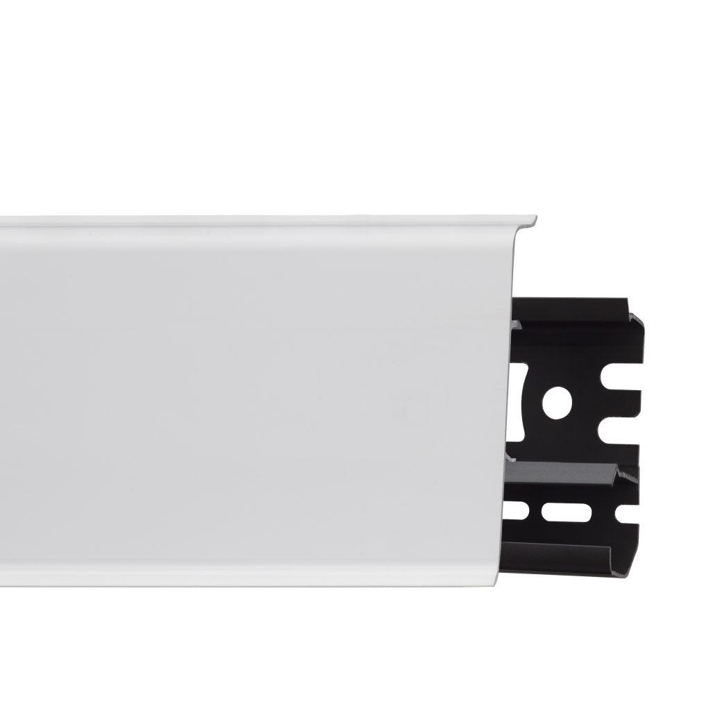 Плинтус Arbiton INDO белый глянец 25-71-0-001 (2.5м)