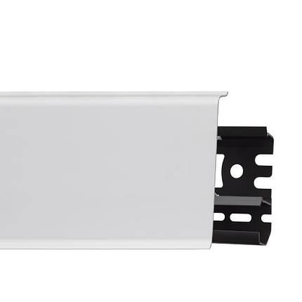 Плинтус Arbiton INDO белый глянец 25-71-0-001 (2.5м), фото 2