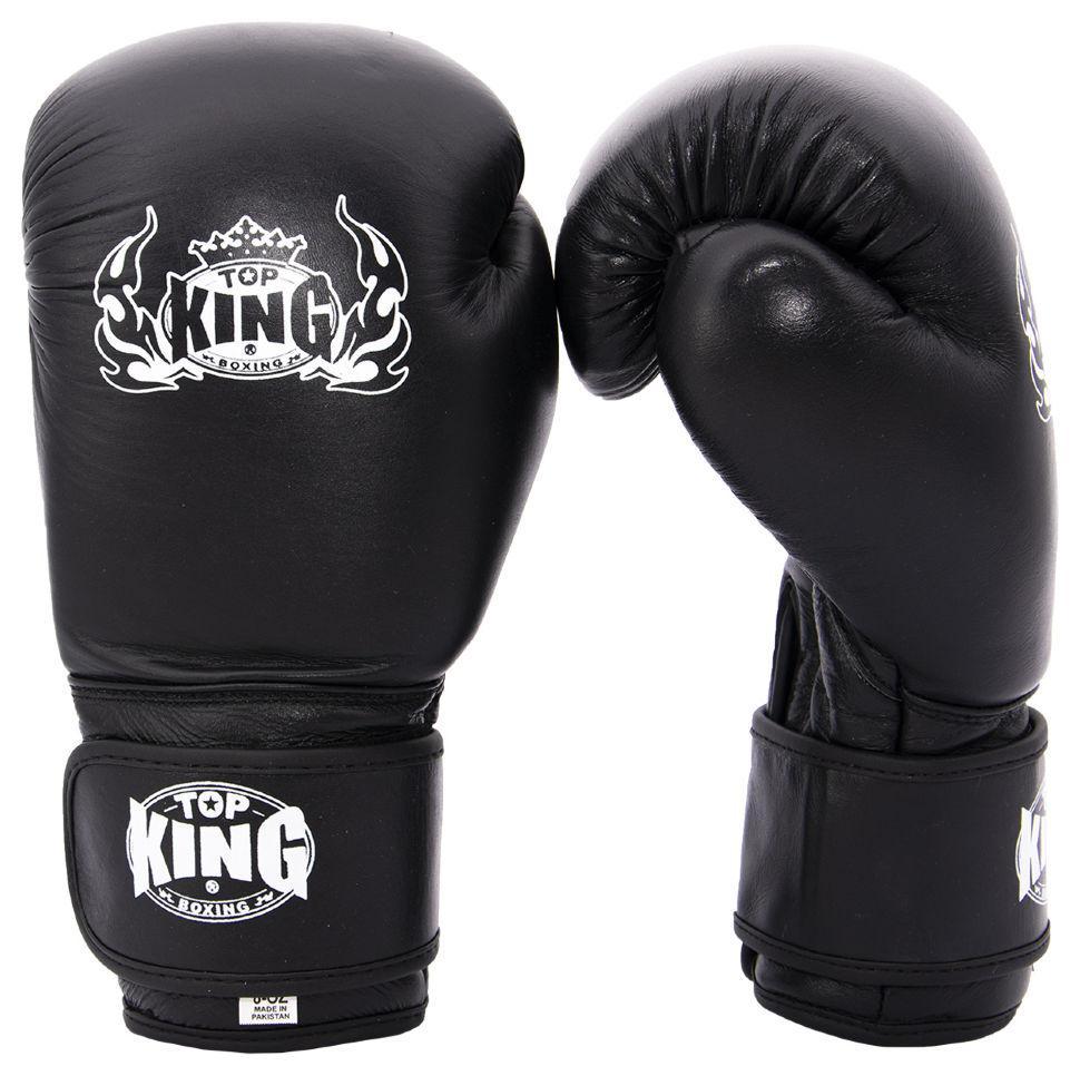 Кожаные перчатки для бокса Maraton Top King
