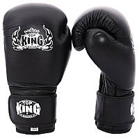 Кожаные перчатки для бокса Maraton Top King, фото 1