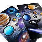 Пазл Космічна мандрівка Сонячною системою + книжка, фото 4