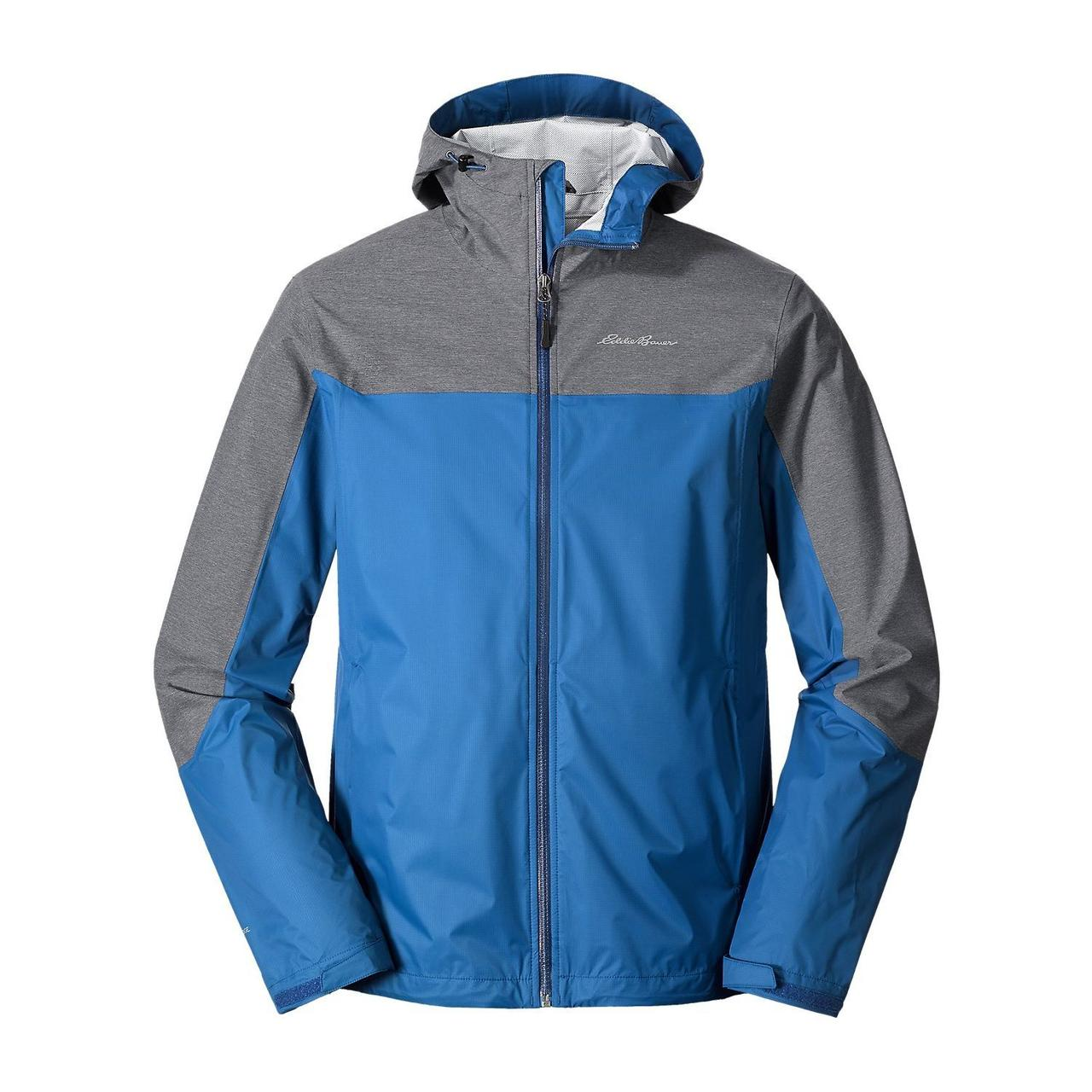 Куртка Eddie Bauer Mens Cloud Cap Flex Rain Jacket TRUE BLUE (XXL)