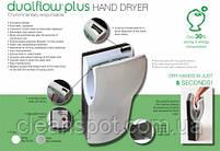 Электросушилка для рук энергосберегающая.  DualFlow Plus. M14ACS., фото 2