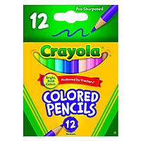 Набор цветных карандашей Crayola 12 шт (4112)