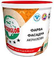 Фасадная акриловая краска ANSERGLOB (14 кг)