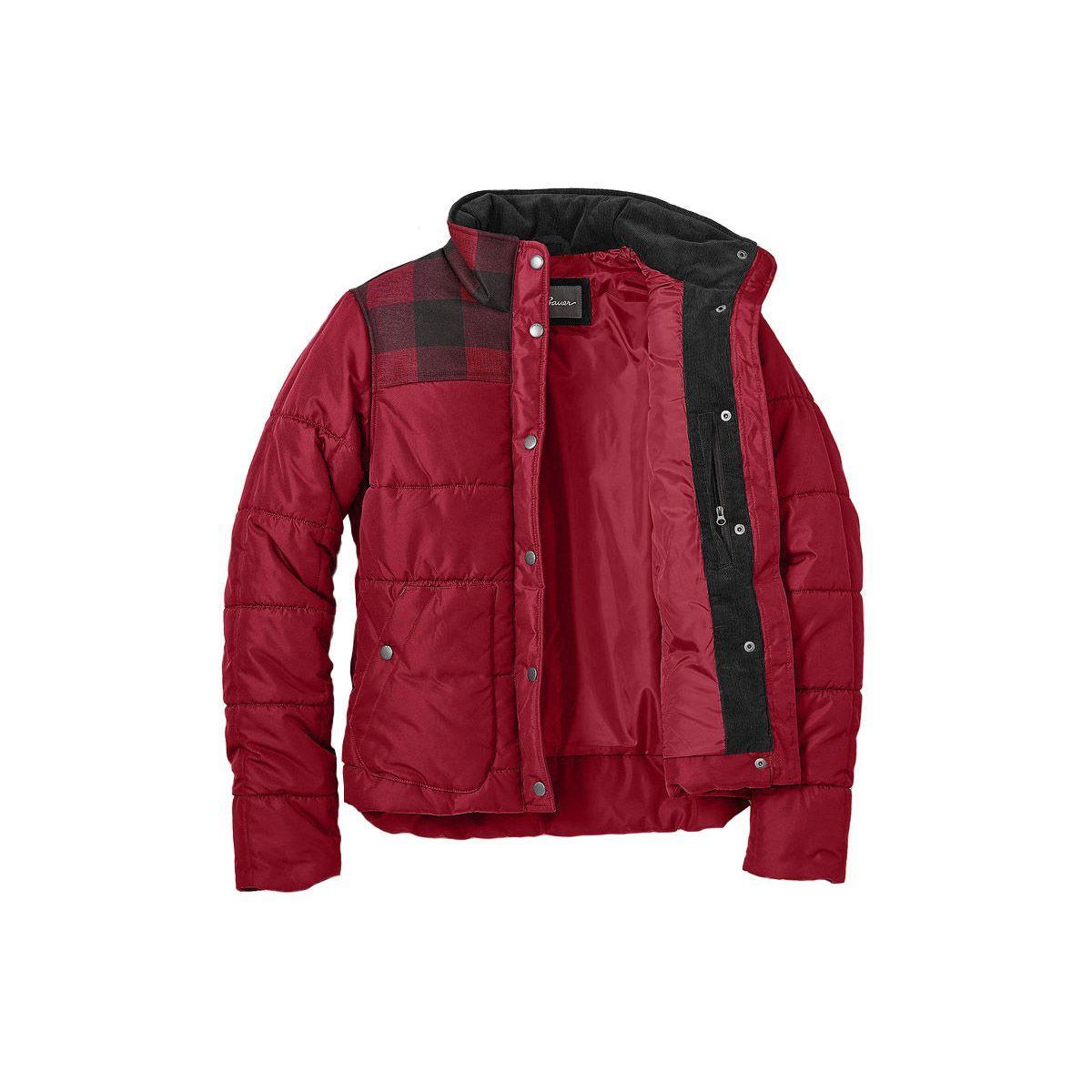 Куртка Eddie Bauer Womens Boyfriend Jacket SCARLET (L)