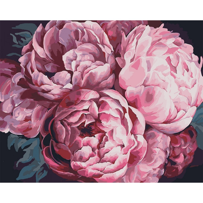 Картина по номерам Вдохновляющий аромат худ Диана Тучс ТМ Идейка 40 х 50 см КНО3015