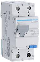 Дифференциальный автоматический выключатель 1+N, 25A, 30 mA, С, 4,5 КА, AC, AD875J