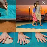 Пляжная подстилка-коврик для моря анти-песок, фото 2